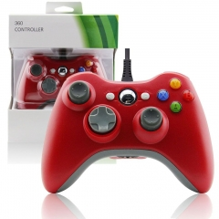 Xbox 360 Wired Controller (red)