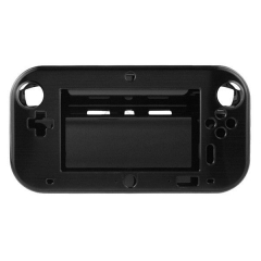 Anti-Shock Aluminum Metal Hard Protective Case For Wii U Gamepad Cover Case  black color