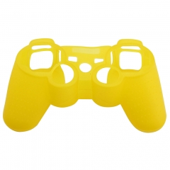 For PS3 Controller Silicon case Yellow
