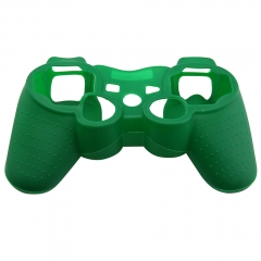 For  PS3 Controller Silicon case Dark green