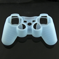 For PS3 Controller Silicon Case White