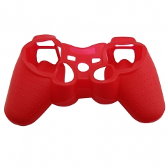 For PS3 Controller Silicon case Red