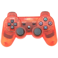 PS3 Wireless Joypad Crystal Red pp bag