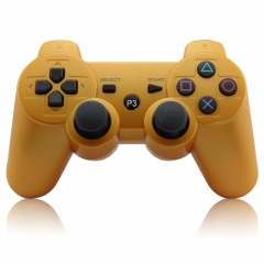 Wireless Controller for PS3 (gold) pp bag