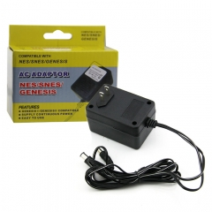 Compatible With NES/SNES/GENESIS 3 IN1 AC Adaptor US 110V --220 V Switch Freely