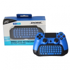 2.4G Wireless Keyboard for PS4 Pro Dual Shock 4 Gaming Controller