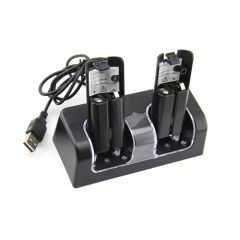 Blue light charge station for wii--black