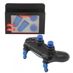 Extended TRIGGER+FPS Grips SET For PS4 Controller(Blue+Black)
