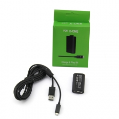 New Products USB Rechargeable Play and Charge Battery Charger Kit 1400 mAh Batteries For Xbox One Controller