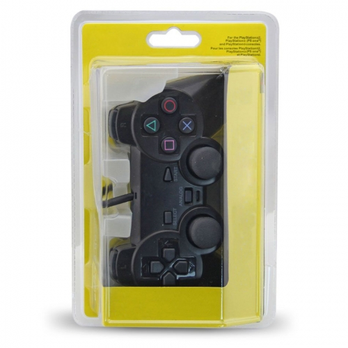PS2 wired joypad with IC blister Packing Copy