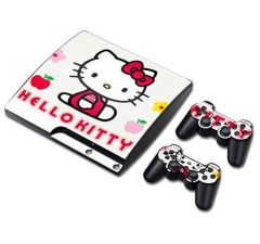 PS3 slim Console Protective Sticker Cover Skin Controller Skin Sticker 03