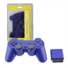 Wireless Controller For PS2-Blue