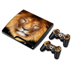 PS3 slim Console Protective Sticker Cover Skin Controller Skin Sticker 06