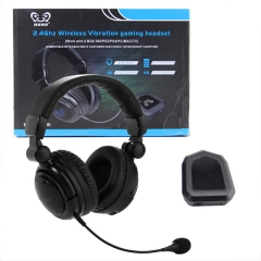 PC/ PS3/PS4/Xbox one/Xbox 360/TV 2.4GHz wireless Fiber optic gaming headphone