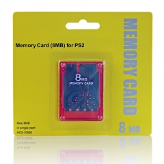 PS2 8MB memory Card with crystal case