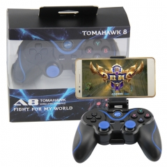 android Gamepad with holder(blue)
