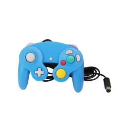 Wired Game Controller for NGC(Bule)