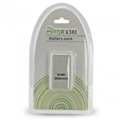 Wholesale Good Products 3600mah Rechargeable Battery Pack FOR XBOX 360 Controller
