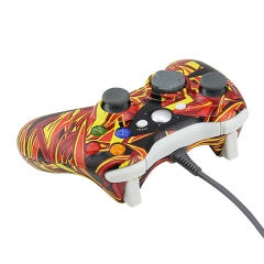 Camouflage Wired Game Controller Gamepad Joypad for Xbox 360 PP Packing