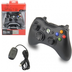 Wireless Game Controller Gamepad Joypad for Xbox 360 PC