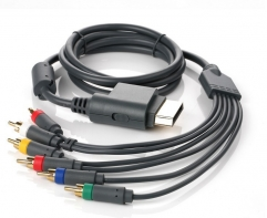Component HD TV HDTV RCA AV Audio Video Cord Cable Lead Cable For XBOX 360 Controller With PP bag
