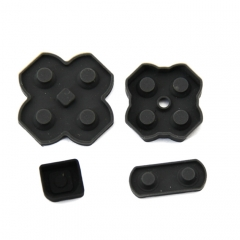 Original Buttons Conductive D-Pad Rubber for 2DS 4-Piece Set