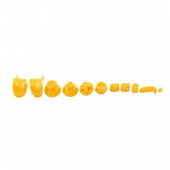 NGC Controller Button Kit- yellow Color