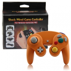 Wired Game Controller for NGC( Dark Orange)