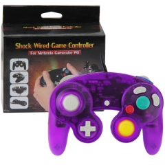 NGC Wired Controller (Crstal Purple)