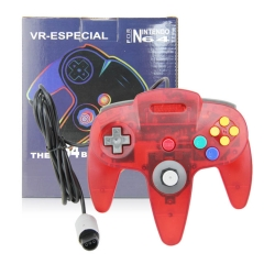 N64 Joypad crystal red
