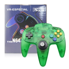 N64 Joypad crystal green