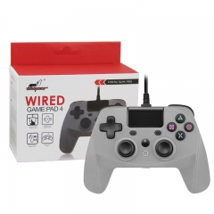 PS4/PS3/PC Wired Controller  Gray Color