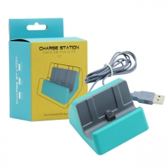 Nintendo switch Lite Charger Station Turquoise Color