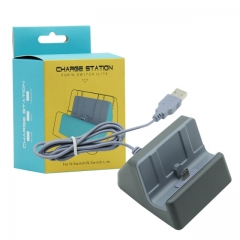 Nintendo switch Lite Charger Station  gray  color