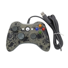 Wired Game Controller Gamepad Joypad for Xbox 360 PP Packing-Camouflage