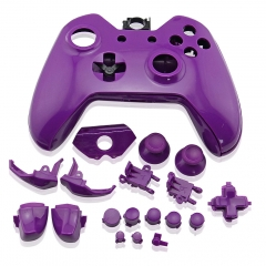 Replacement Controller Case Shell for Xbox One- Purple