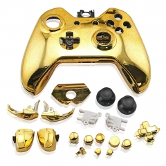 Housing Case for Xbox One Controller-Electroplating Gold