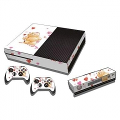 XBOX one console protective sticker cover skin controller skin 08