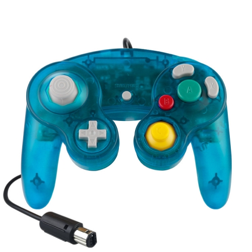 NGC Wired Controller (Crystal Atrovirens)