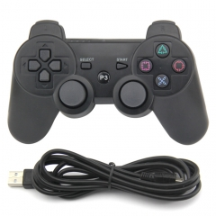 PS3 Wired Controller (black)PP Bag